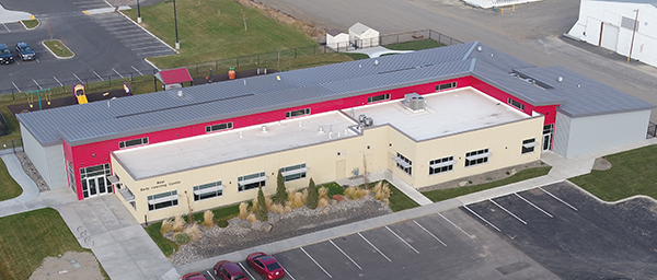 Drone Photo of Neal Early Learning Center